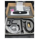 New- high arc kitchen faucet - flat black