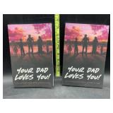 2 Rob Stone books - your dad loves you!