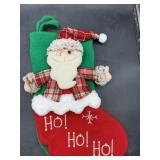 New 3d santa Christmas stocking