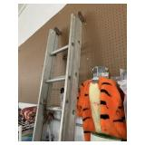 Aluminum 16ft extension ladder