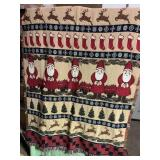 Christmas throw blanket- very nice