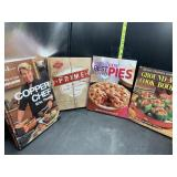 4 Cookbooks- hardback