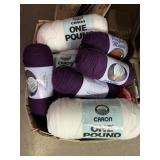 Large lot of very nice yarn