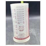 The pampered chef measuring Cup dry/wet