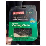"New Craftsman cutting chain #H78 20""."