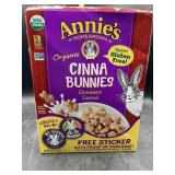 Annie's organic cinnamon bunnies cinnamon cereal