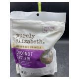 Purely Elizabeth grain free granola - coconut