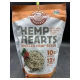Hemp hearts shelled hemp seeds - 16oz - gluten