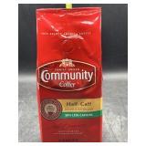 Community coffee - ground - half caff 12oz