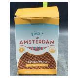 Sweet Amsterdam stroopwafel real organic honey -