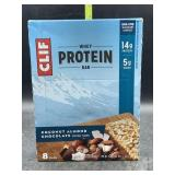 Clif whey protein bar - coconut almond chocolate-