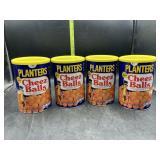 4 planters cheese balls - 2.75oz each