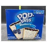 Pop tarts- frosted blueberry - 12 pastries