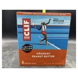 Clif bar crunchy peanut butter - 6 energy bars