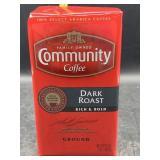 Community coffee dark roast - ground - 16oz.