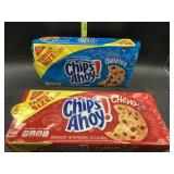 2 family size chips ahoy - 1 chewy & 1 original -