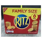 Family size Ritz crackers - 6 individual packs