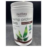 Nutiva hemp protein organic superfood chocolate