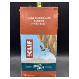Clif bar dark chocolate almond with sea salt 12