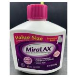 Value size Miralax - 45 once daily doses - 26.9oz