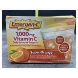 Emergen-c 1,000mg vitamin c- super orange - 30
