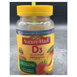 Nature made D3 gummies - 150 gummies / value size