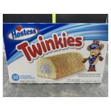 Hostess twinkies 10 individually wrapped cakes