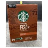 Starbucks pike place roast kcups - 24 - medium