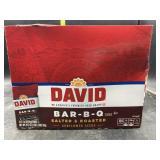 David sunflower seeds - bar b q / salted &