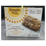 Simple mills soft baked almond flour bars - nutty