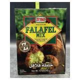 Falafel mix vegetable burger - 12oz