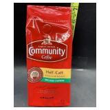Community coffee - ground - half-caff 12oz