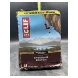 Clif bars - chocolate brownie 18 energy bars