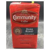 Community coffee ground dark roast - 16oz