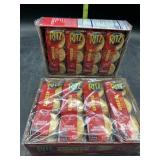 2 boxes ritz cheese crackers - 8 packs in each