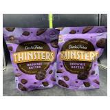 2 bags brownie batter thinsters cookie thins -