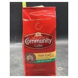 Community coffee half caff ground 12oz