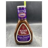 Kens steakhouse Asian sesame with ginger & soy