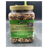 Planters unsalted premium blend nuts - 2lbs 2.5oz
