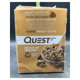 Quest protein bars - chocolate chip cookie dough