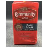 Community coffee dark roast ground 16oz