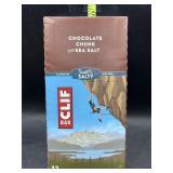 Clif bar chocolate chunk with sea salt 12 energy