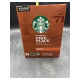 Starbucks pike place roast - 24 kcup pods medium