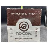 No cow protein bar - chocolate fudge brownie 12