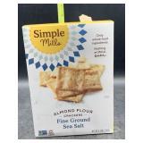 Simple mills almond flour crackers - fine ground