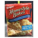 Banquet home style bakes complete meal kit -
