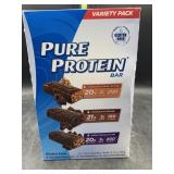 Pure protein bar variety pack 18 bars
