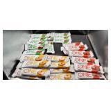 Protein Bars. 3 Different Flavors  Aprox 3 Dozen