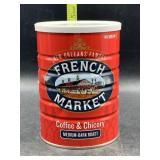 French market coffee & chicory - medium-dark
