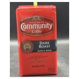 Community coffee dark roast ground coffee - 16oz